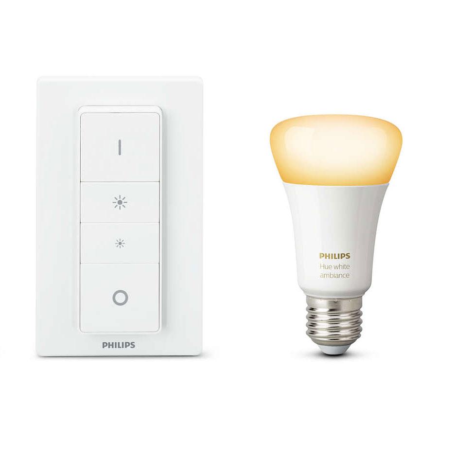 philips hue white ambiance kit e27 ampoule connect e. Black Bedroom Furniture Sets. Home Design Ideas