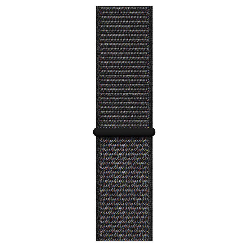 Montre connectée Apple Bracelet Boucle Sport 44 mm Noir - Large Bracelet boucle sport pour Apple Watch 42/44 mm