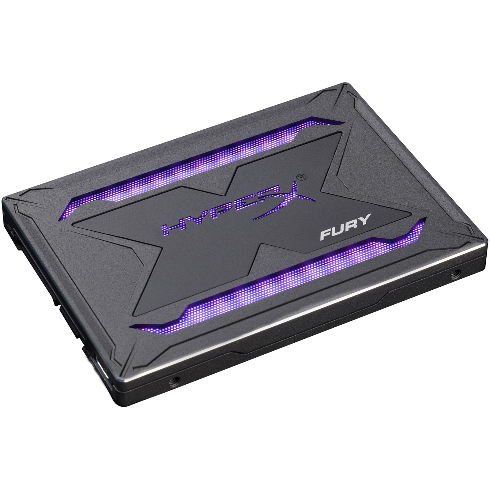 "Disque SSD HyperX Fury RGB SSD 240 Go SSD 240 Go 9.5 mm 2.5"" Serial ATA 6Gbit/s avec rétroéclairage RGB"