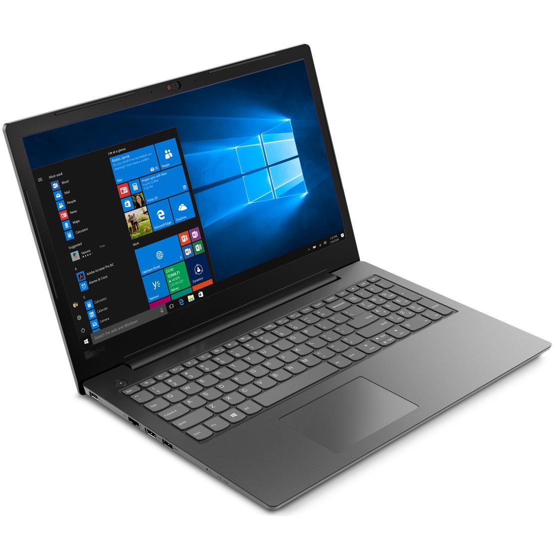 "PC portable Lenovo V130-15IKB (81HN00H5FR) Intel Core i3-6006U 4 Go SSD 256 Go 15.6"" LED Full HD Graveur DVD Wi-Fi AC/Bluetooth Webcam Windows 10 Famille 64 bits"