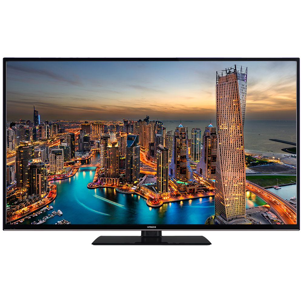 "TV Hitachi 49HK6000 Noir Téléviseur LED 4K 49"" (124 cm) 16/9 - 3840 x 2160 pixels - HDR - Ultra HD - Wi-Fi - Bluetooth - 1200 Hz"
