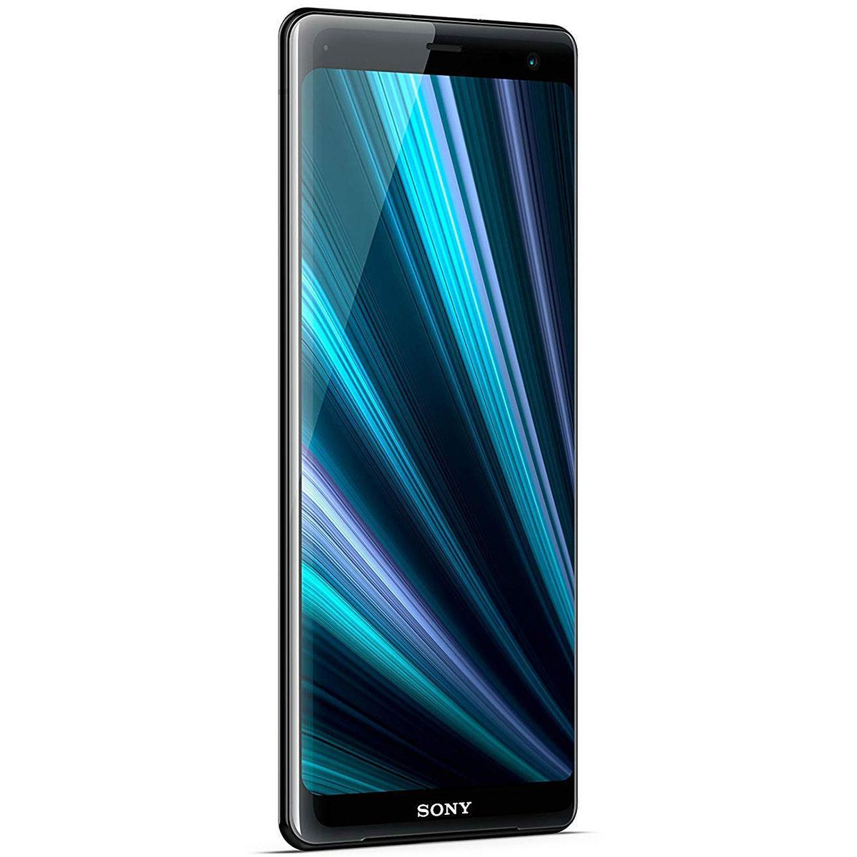"Mobile & smartphone Sony Xperia XZ3 Dual SIM Noir Smartphone 4G-LTE Advanced IP68 Dual SIM - Snapdragon 845 Octo-Core 2.7 GHz - RAM 4 Go - Ecran tactile 6.0"" 1440 x 2880 - 64 Go - NFC/Bluetooth 5.0 - 3330 mAh - Android 9.0"