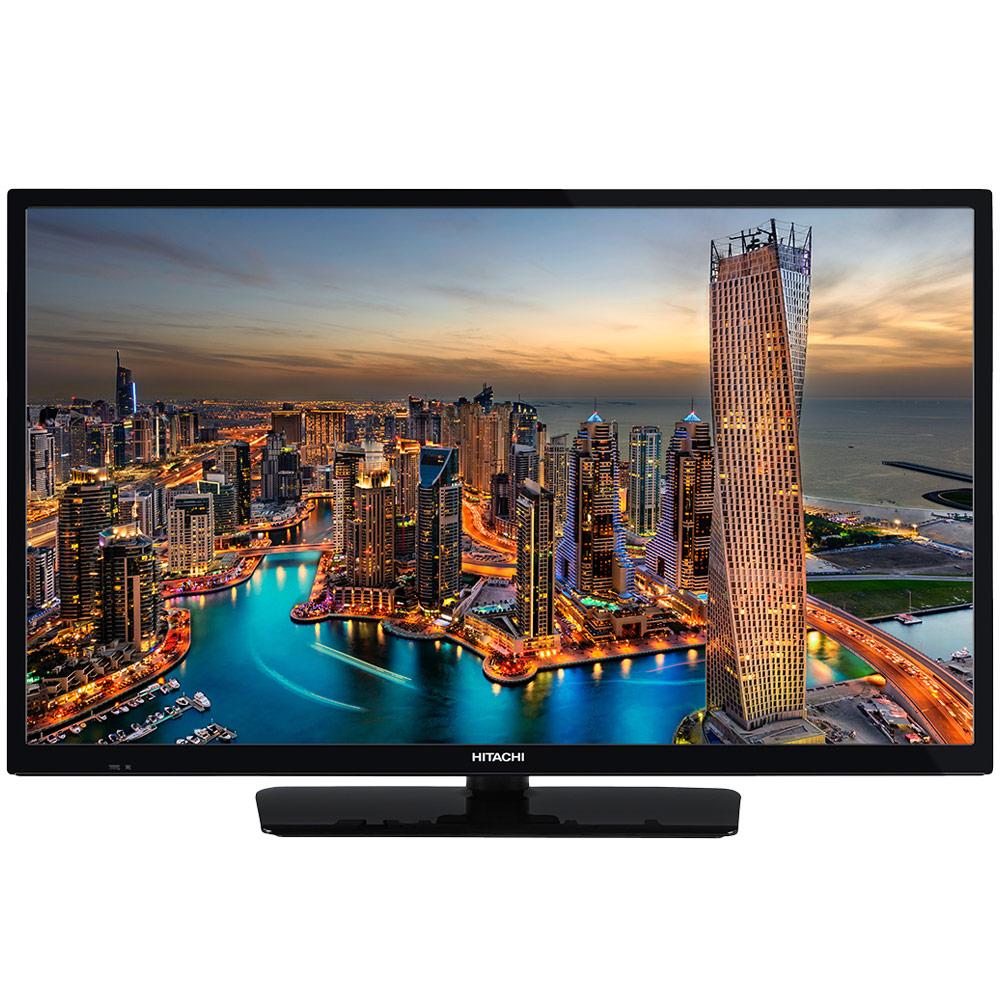 """TV Hitachi 24HE2000 Téléviseur LED HD 24"""" (61 cm) 16/9 - 1366 x 768 pixels - HDTV - Wi-Fi - DLNA - 400 Hz"""
