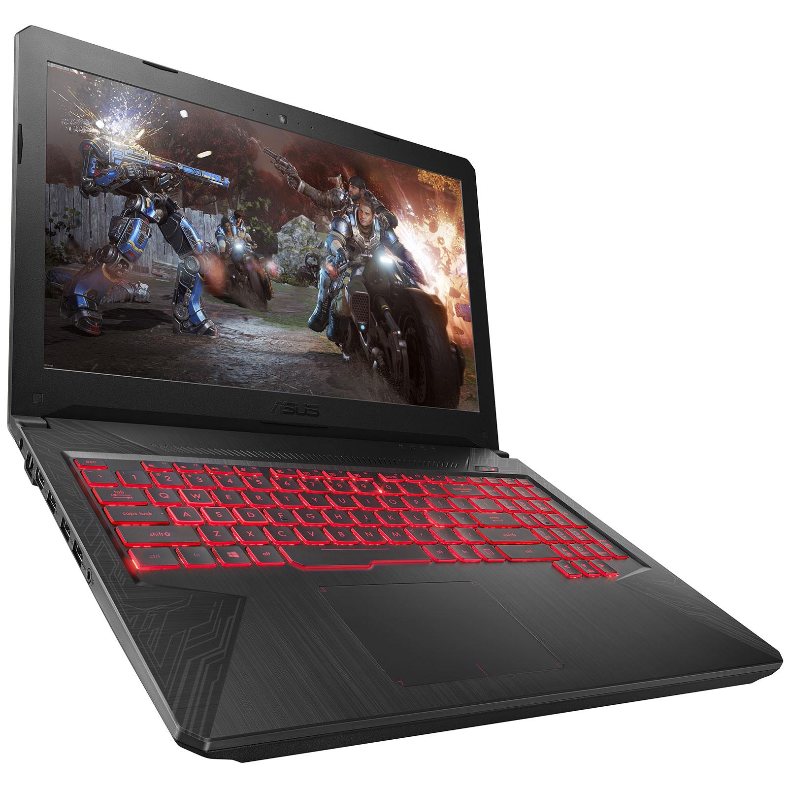 "PC portable ASUS TUF504GD-DM912 Intel Core i5-8300H 8 Go SSHD 1 To 15.6"" LED Full HD NVIDIA GeForce GTX 1050 2 Go Wi-Fi AC/Bluetooth Webcam Sans OS (garantie constructeur 2 ans)"