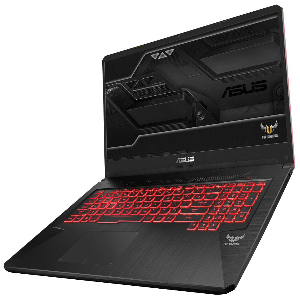 "PC portable ASUS TUF705GD-EW070 Intel Core i5-8300H 8 Go SSHD 1 To 17.3"" LED Full HD NVIDIA GeForce GTX 1050 4 Go Wi-Fi AC/Bluetooth Webcam Sans OS (garantie constructeur 2 ans)"