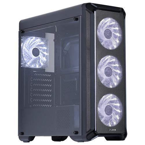 Boîtier PC Zalman i3 Boîtier Moyen Tour Noir avec fenêtre
