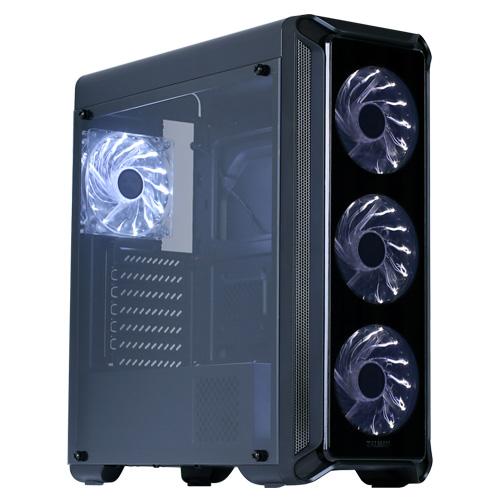 Boîtier PC Zalman i3 edge Boîtier Moyen Tour Noir avec fenêtre
