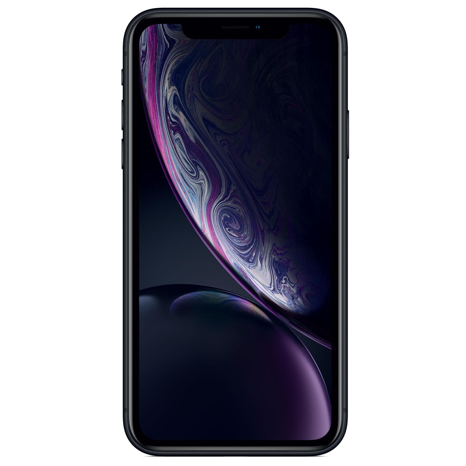 "Mobile & smartphone Apple iPhone XR 128 Go Noir Smartphone 4G-LTE Advanced IP67 Dual SIM - Apple A12 Bionic Hexa-Core - RAM 3 Go - Ecran 6.1"" 828 x 1792 - 128 Go - NFC/Bluetooth 5.0 - iOS 12"