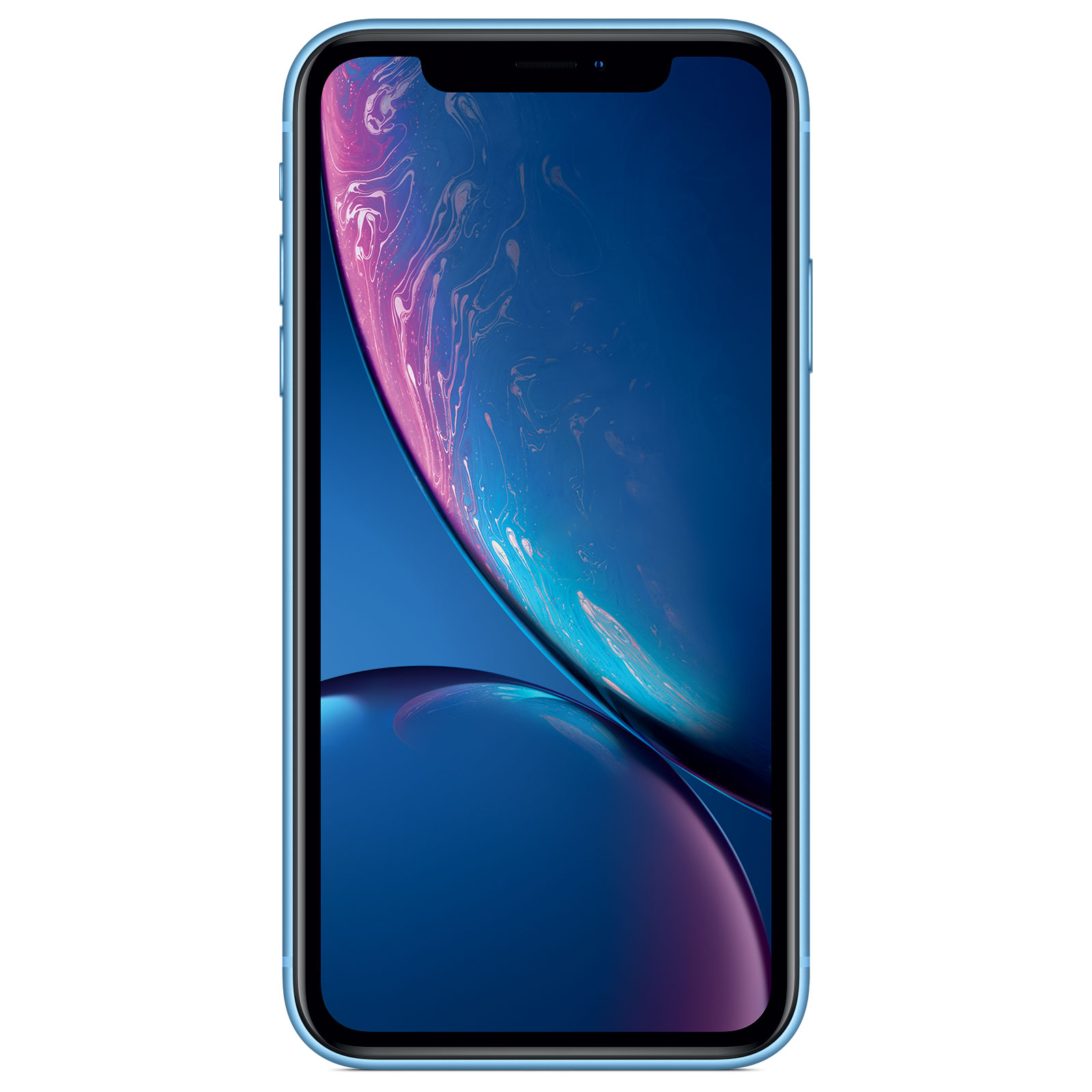 "Mobile & smartphone Apple iPhone XR 128 Go Bleu Smartphone 4G-LTE Advanced IP67 Dual SIM - Apple A12 Bionic Hexa-Core - RAM 3 Go - Ecran 6.1"" 828 x 1792 - 128 Go - NFC/Bluetooth 5.0 - iOS 12"