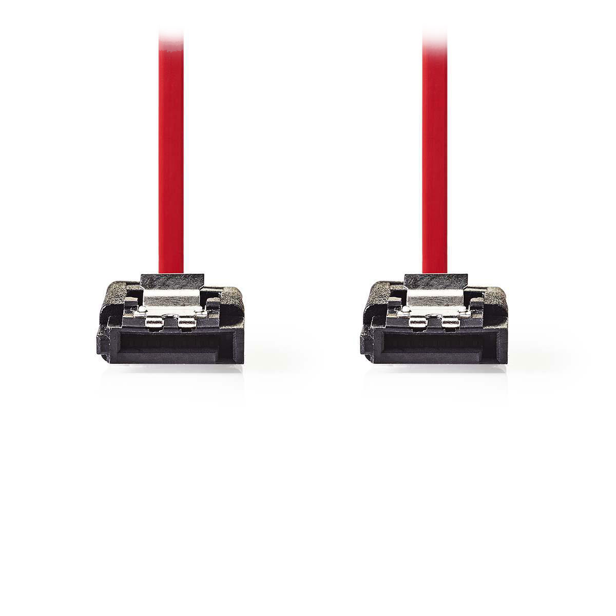 Serial ATA NEDIS Câble SATA avec verrou (50 cm) Câble compatible SATA II (3 Gb/s)