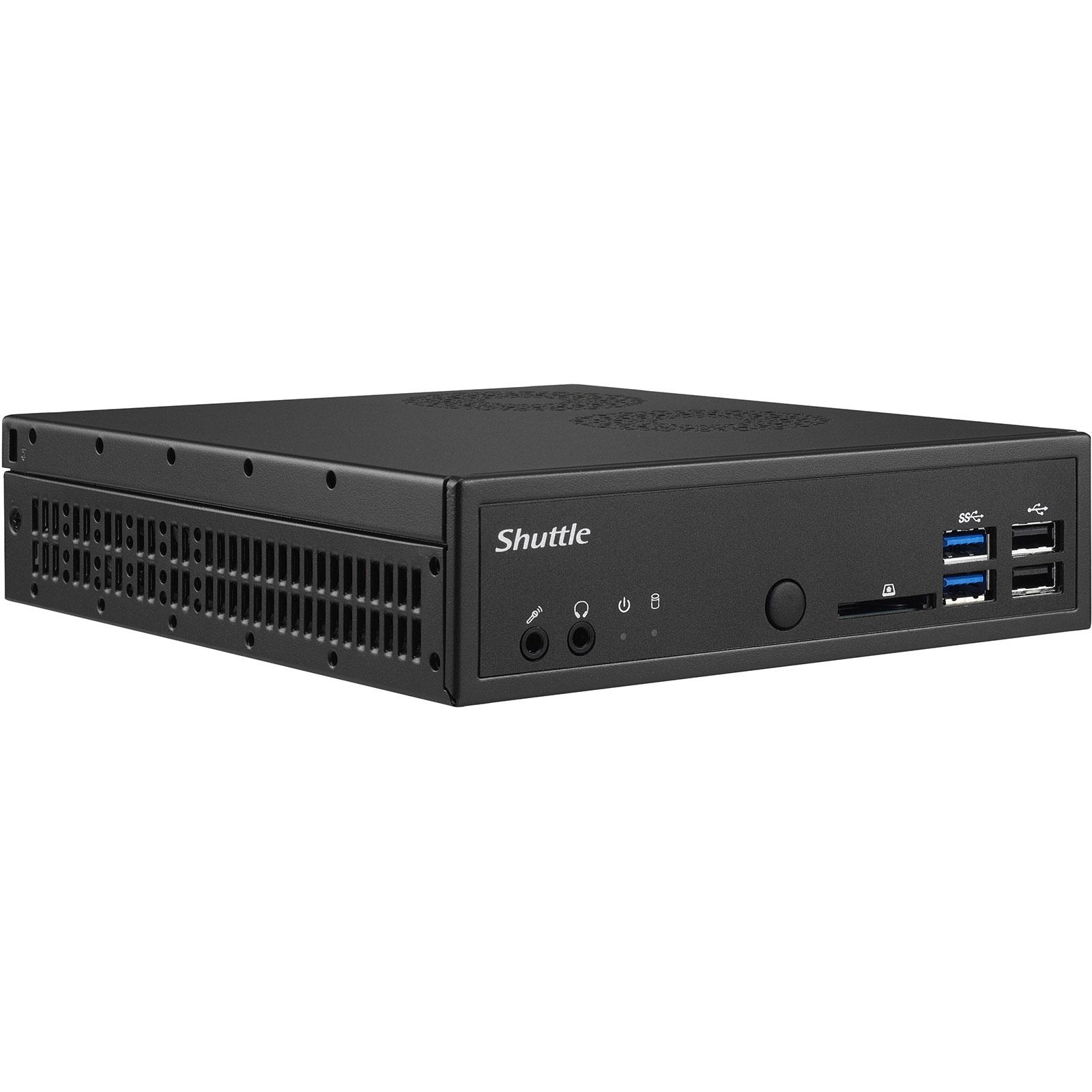 Barebone PC Shuttle XPC Slim DH310 Mini-Barebone - 90W (Intel H310 Express) (sans processeur/mémoire/disque dur)