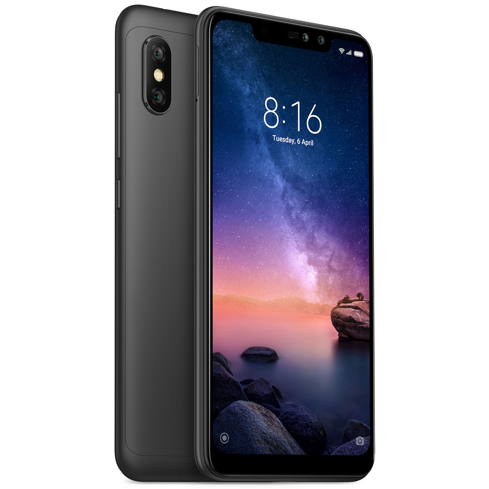 Mobile   smartphone Xiaomi Redmi Note 6 Pro Noir (3 Go   32 Go) b95d0430533f