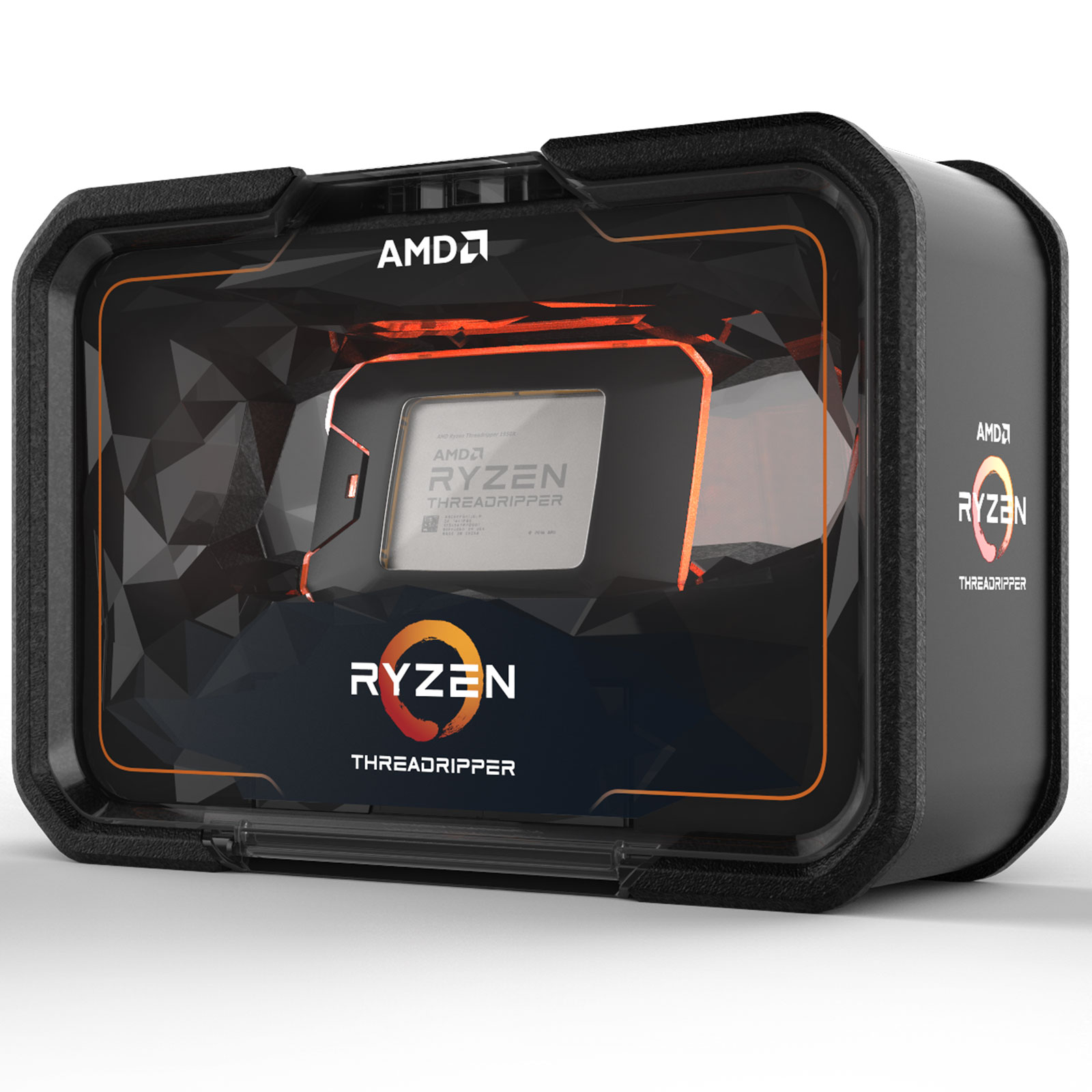 Processeur AMD Ryzen Threadripper 2950X (3.5 GHz) Processeur 16-Core Socket sTR4 Cache L3 32 Mo 0.012 micron TDP 180W (version boîte sans ventilateur - garantie constructeur 3 ans)