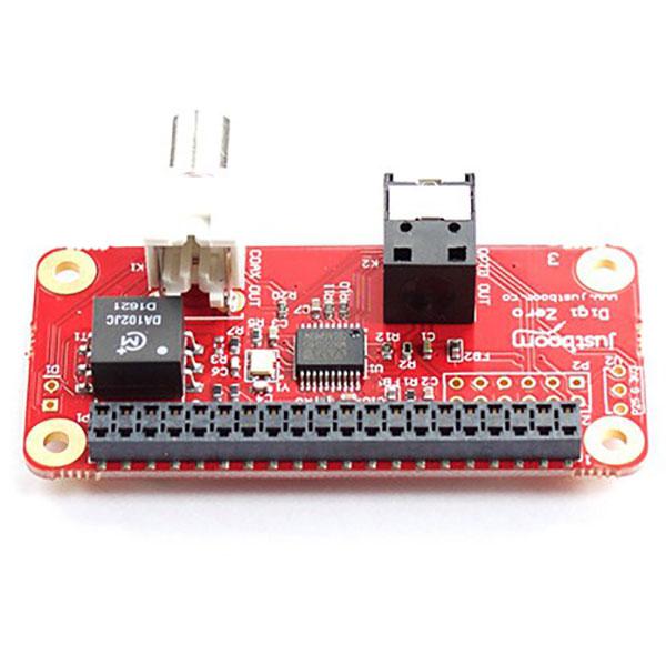 Module d'extension Raspberry Pi JustBoom Digi Zero pHAT Carte d'extension haute résolution numérique pour Raspberry Zero / Zero W