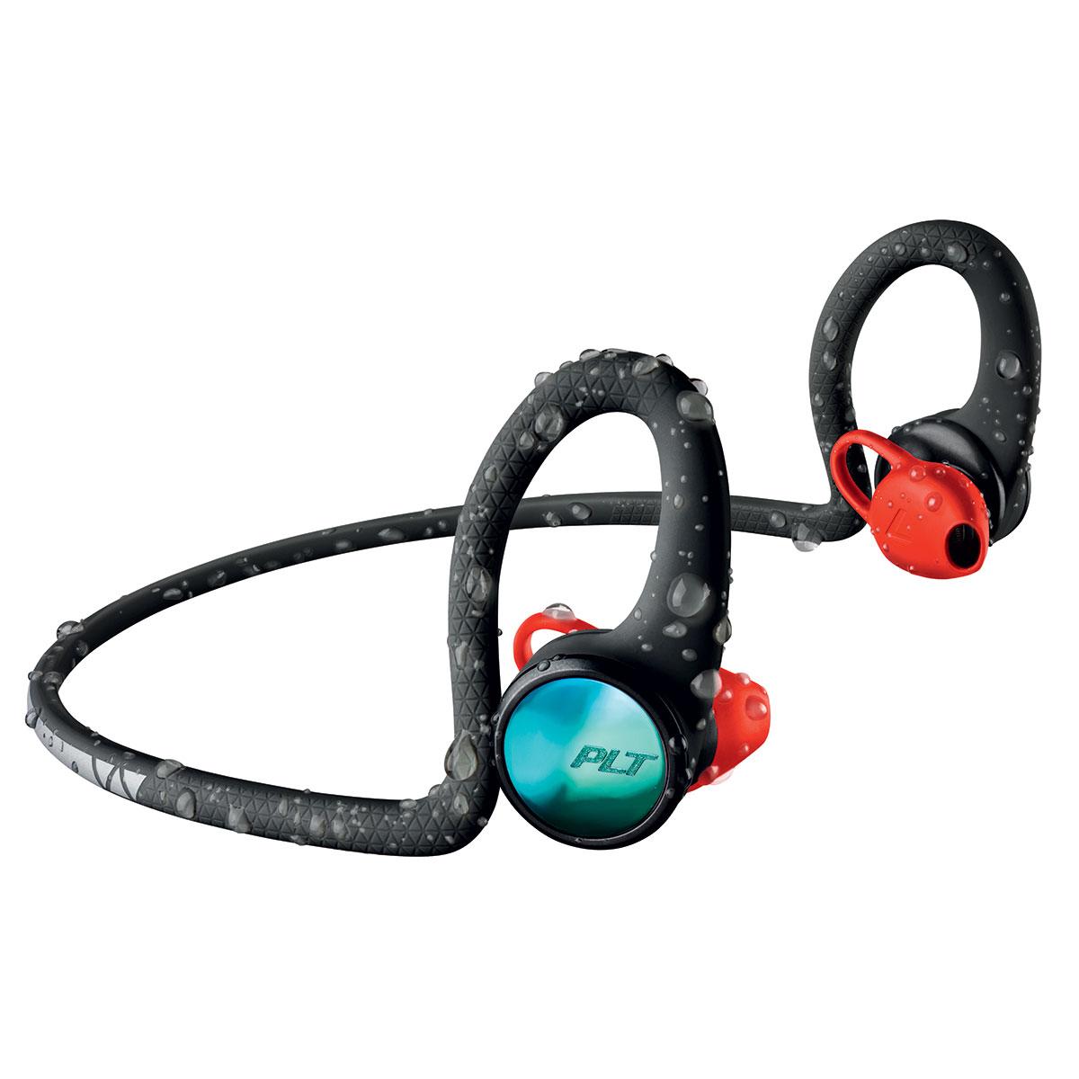 Casque Plantronics BackBeat FIT 2100 Noir Casque intra-auriculaire sport sans fil Bluetooth 5.0 avec commandes et micro - IP57