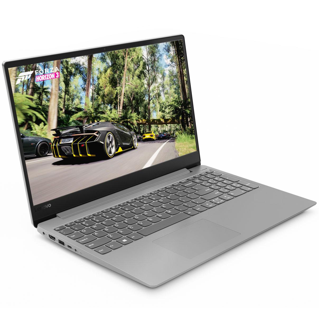 """PC portable Lenovo IdeaPad 330S-15ARR (81FB007FFR) AMD Ryzen 5 2500U 4 Go SSD 128 Go + HDD 1 To 15.6"""" LED Full HD Wi-Fi AC/Bluetooth Webcam Windows 10 Famille 64 bits"""