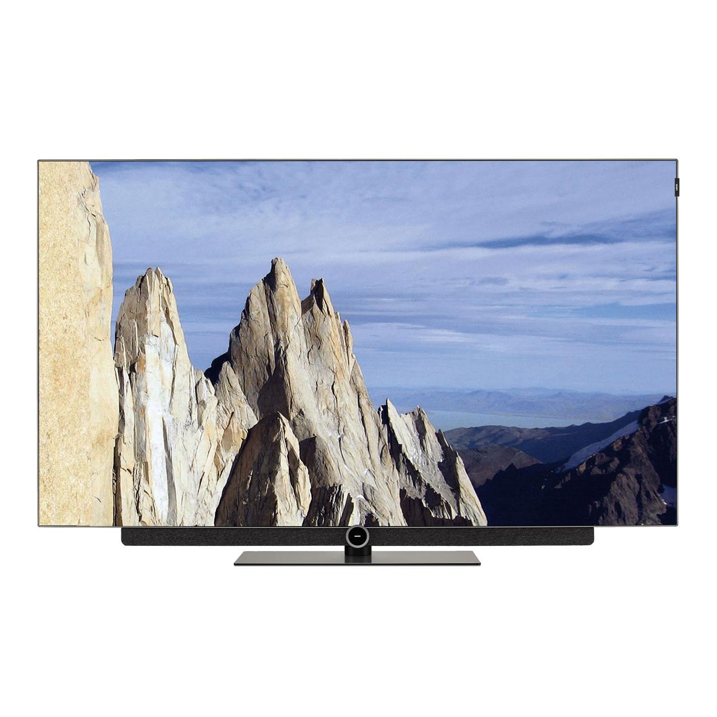 """TV Loewe Bild 3.65 OLED Gris Graphite Téléviseur OLED Ultra HD 65"""" (165 cm) 16/9 - 3840 x 2160 pixels - Ultra HD 2160p - HDR - Wi-Fi - Bluetooth - Barre de son intégrée (dalle native 100 Hz)"""