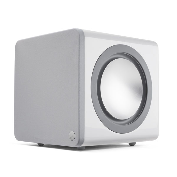 Enceintes Hifi Cambridge Audio Minx X201 Blanc Caisson de basses 200 Watts