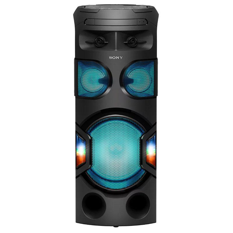 Chaîne Hifi Sony MHC-V71D Système audio CD/DVD MP3 USB FM avec Bluetooth NFC et karaoké