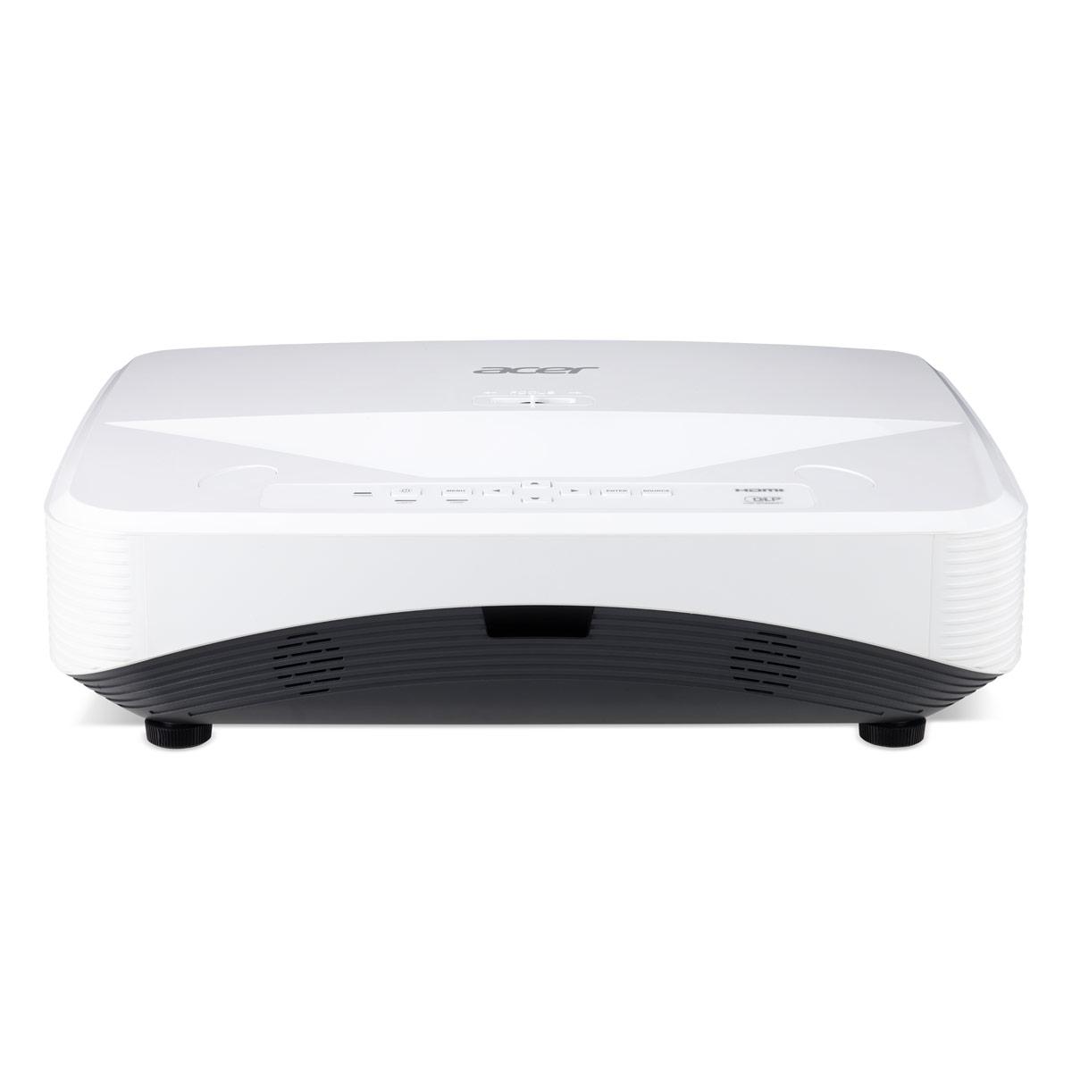 Vidéoprojecteur Acer UL5310W Vidéoprojecteur laser DLP WXGA 3D Ready - 3600 Lumens - Focale Ultra-Courte - HDMI/VGA/USB/Ethernet - Haut-parleur intégré