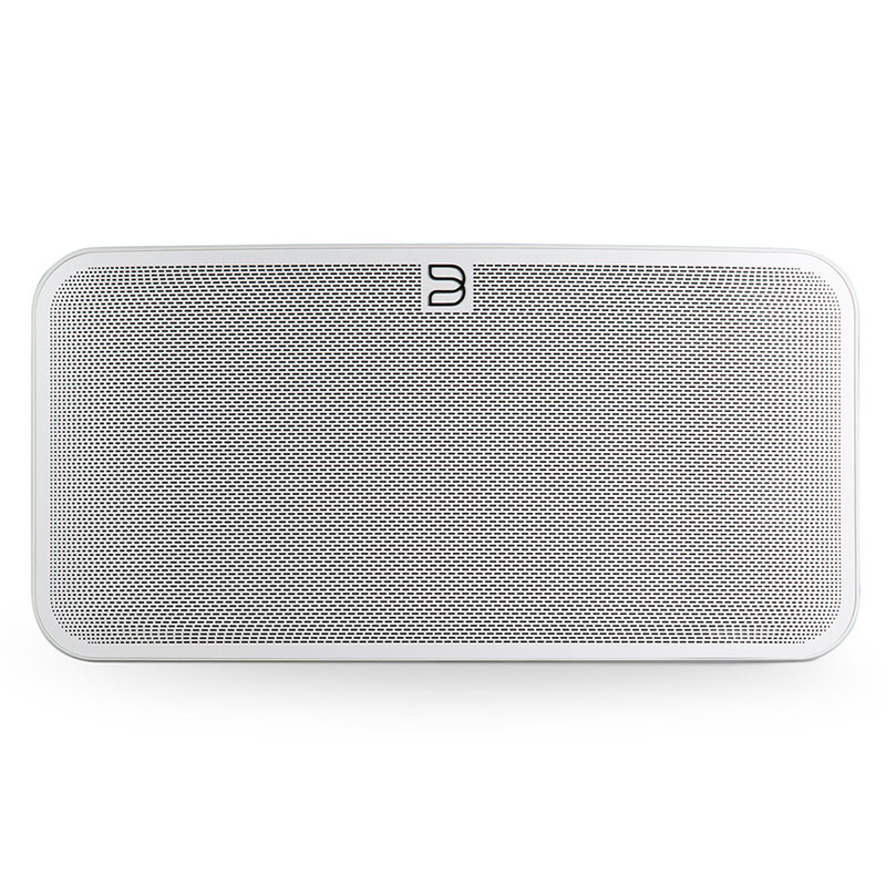 Dock & Enceinte Bluetooth Bluesound PULSE MINI 2i Blanc Système audio multiroom avec Wi-Fi AC, Bluetooth 5.0 aptX HD, compatibilité Hi-Res Audio pour streaming audio et web radio