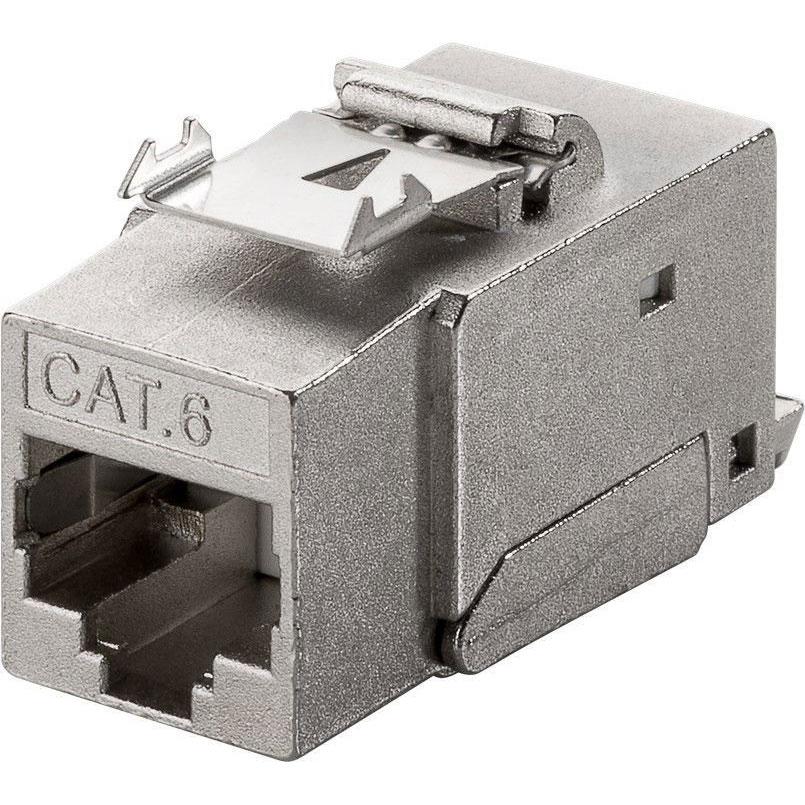 goobay module rj45 keystone cat 6 stp connectique rj45. Black Bedroom Furniture Sets. Home Design Ideas