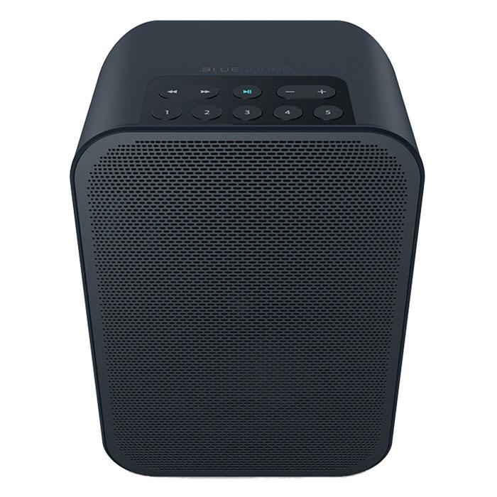 Dock & Enceinte Bluetooth Bluesound Pulse Flex 2i Noir Système audio multiroom avec Wi-Fi, Bluetooth pour Streaming audio et Web radio compatible Hi-Res Audio / AirPlay 2 / Alexa