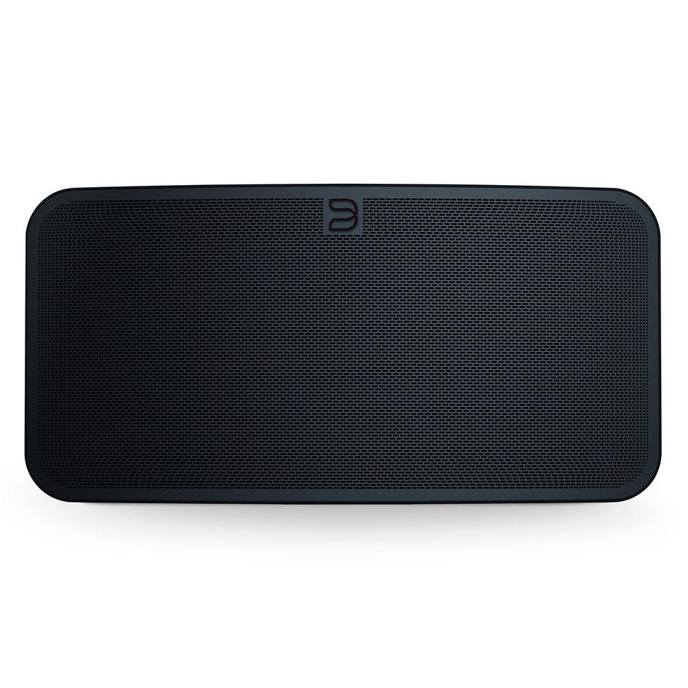 Dock & Enceinte Bluetooth Bluesound PULSE 2i Noir Système audio multiroom avec Wi-Fi AC, Bluetooth 5.0 aptX HD, AirPlay 2, compatibilité Hi-Res Audio pour streaming audio et web radio