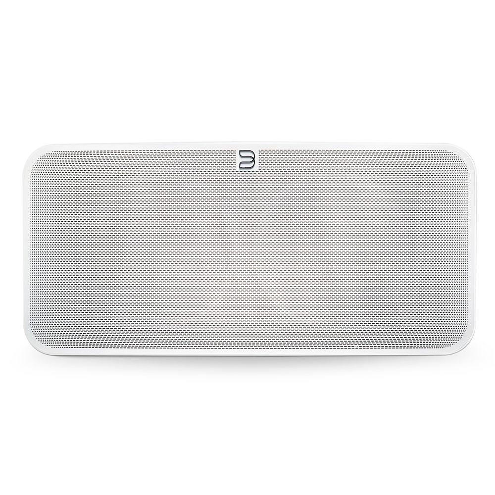 Dock & Enceinte Bluetooth Bluesound PULSE 2i Blanc Système audio multiroom avec Wi-Fi AC, Bluetooth 5.0 aptX HD, AirPlay 2, compatibilité Hi-Res Audio pour streaming audio et web radio