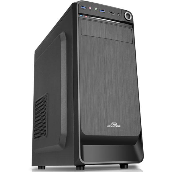 Boîtier PC Advance Origin Boîtier Moyen tour Noir