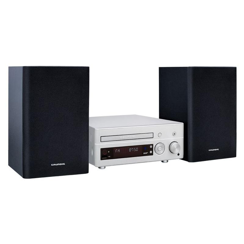 Chaîne Hifi Grundig M2050BT Micro-chaîne CD/MP3/FM/DAB+ Bluetooth avec port USB et entrée auxiliaire