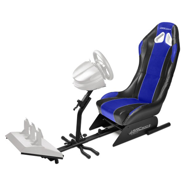 subsonic src 500 s driving cockpit bleu volant pc. Black Bedroom Furniture Sets. Home Design Ideas