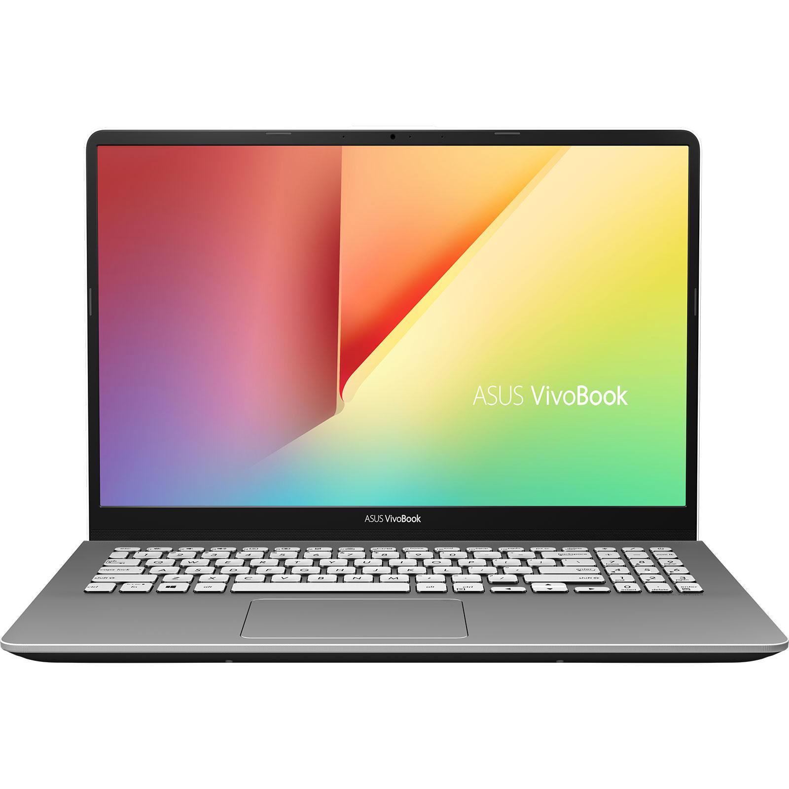 """PC portable ASUS Vivobook S15 S530FA-BQ270T Intel Core i5-8265U 8 Go SSD 256 Go + HDD 1 To 15.6"""" LED Full HD Wi-Fi AC/Bluetooth Webcam Windows 10 Famille 64 bits (garantie constructeur 2 ans)"""