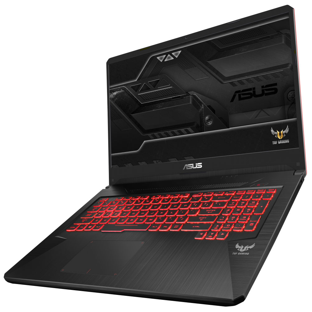 "PC portable ASUS TUF705GE-EW076 Intel Core i5-8300H 8 Go SSD 128 Go + HDD 1 To 17.3"" LED Full HD NVIDIA GeForce GTX 1050 Ti 4 Go Wi-Fi AC/Bluetooth Webcam Sans OS (garantie constructeur 2 ans)"