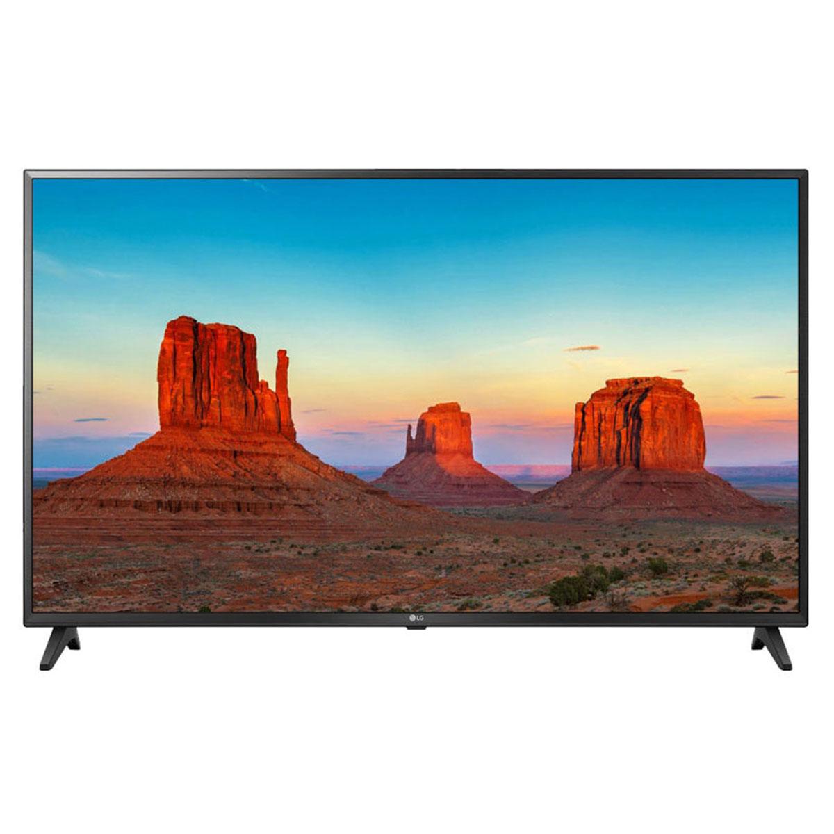 """TV LG 75UK6200 Téléviseur LED 4K 75"""" (190 cm) 16/9 - 3840 x 2160 pixels - Ultra HD 2160p - HDR - Wi-Fi - Bluetooth - Assistant Google - 1500 Hz"""