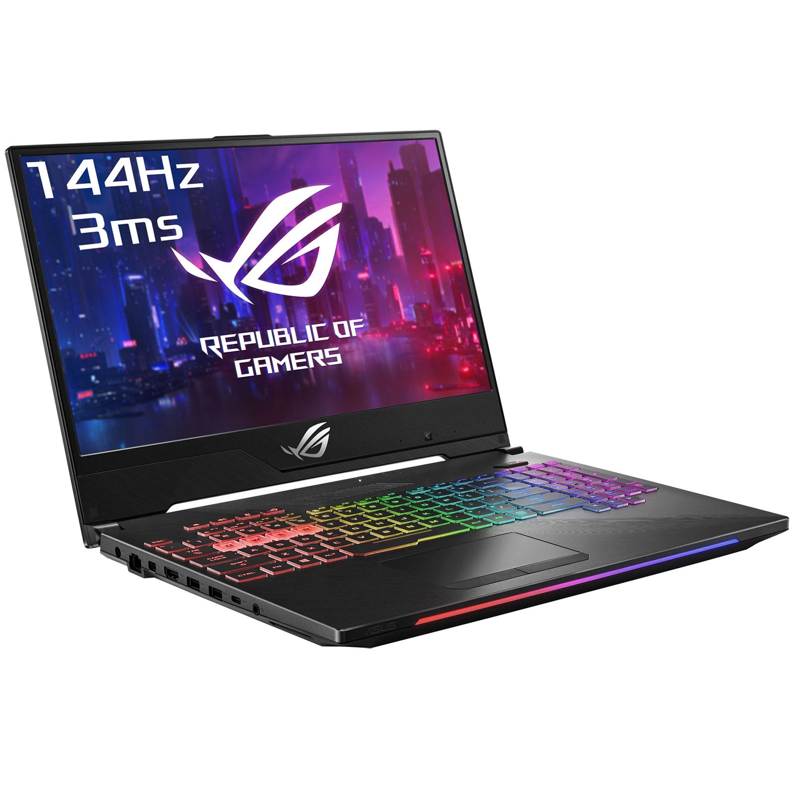 "PC portable ASUS ROG Strix Hero II G515GV-ES048T Intel Core i7-8750H 16 Go SSD 512 Go 15.6"" LED Full HD 144 Hz NVIDIA RTX 2060 6 Go Wi-Fi AC/Bluetooth Webcam Windows 10 Famille 64 bits (garantie constructeur 2 ans)"