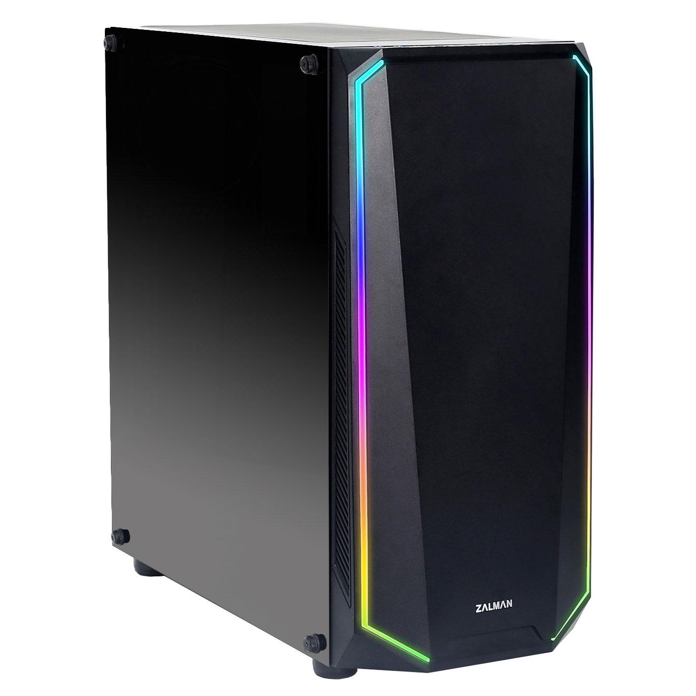 PC de bureau LDLC PC10 Alpha AMD Ryzen 5 2600 (3.4 GHz) 8 Go SSD 240 Go + HDD 1 To AMD Radeon RX 580 8Go Windows 10 Famille 64 bits (monté)
