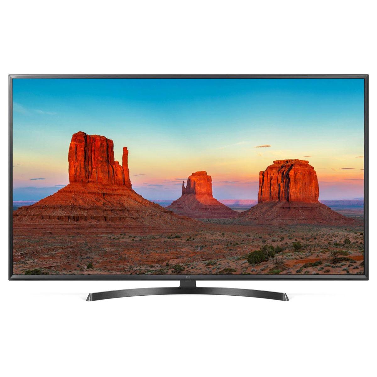 "TV LG 43UK6470 Téléviseur LED 4K 43"" (109 cm) 16/9 - 3840 x 2160 pixels - Ultra HD 2160p - HDR - Wi-Fi - Bluetooth - 1600 Hz"