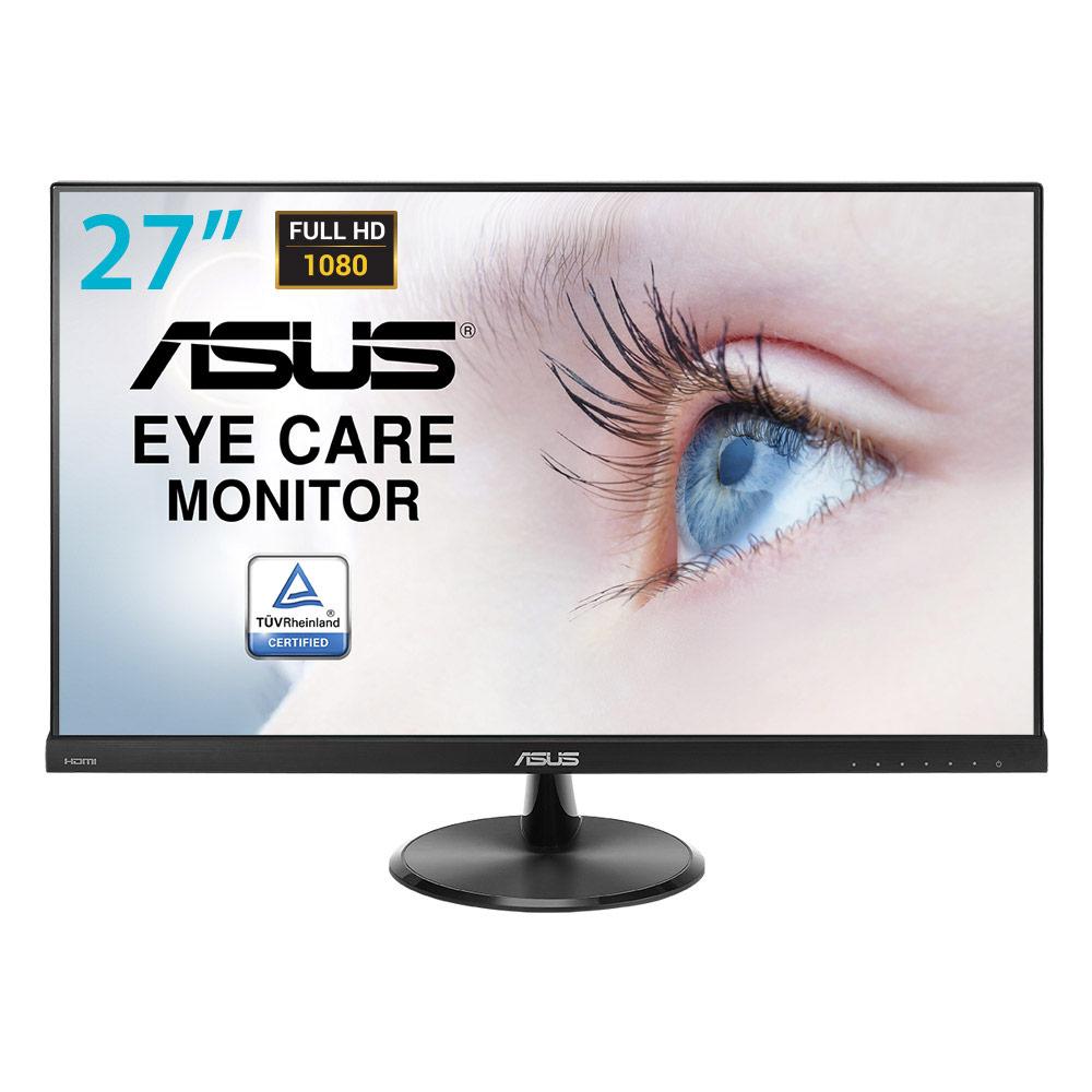 """Ecran PC ASUS 27"""" LED - VC279H 1920 x 1080 pixels - 5 ms (gris à gris) - Format large 16/9 - Dalle IPS - Ultra Low Blue Light + Flicker Free - HDMI - Noir (garantie constructeur 3 ans)"""