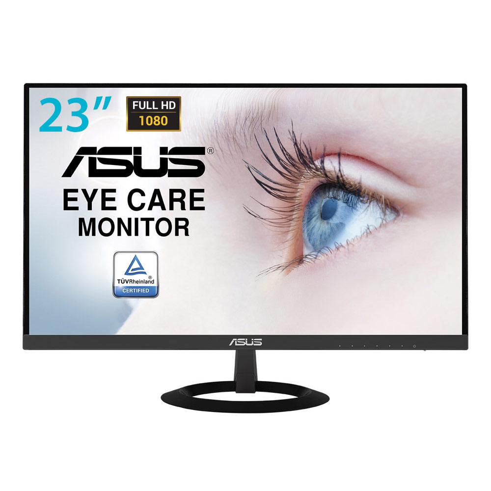 """Ecran PC ASUS 23"""" LED - VZ239HE 1920 x 1080 pixels - 5 ms (gris à gris) - Format large 16/9 - Dalle IPS - Ultra Low Blue Light + Flicker Free - HDMI - Noir (garantie constructeur 3 ans)"""