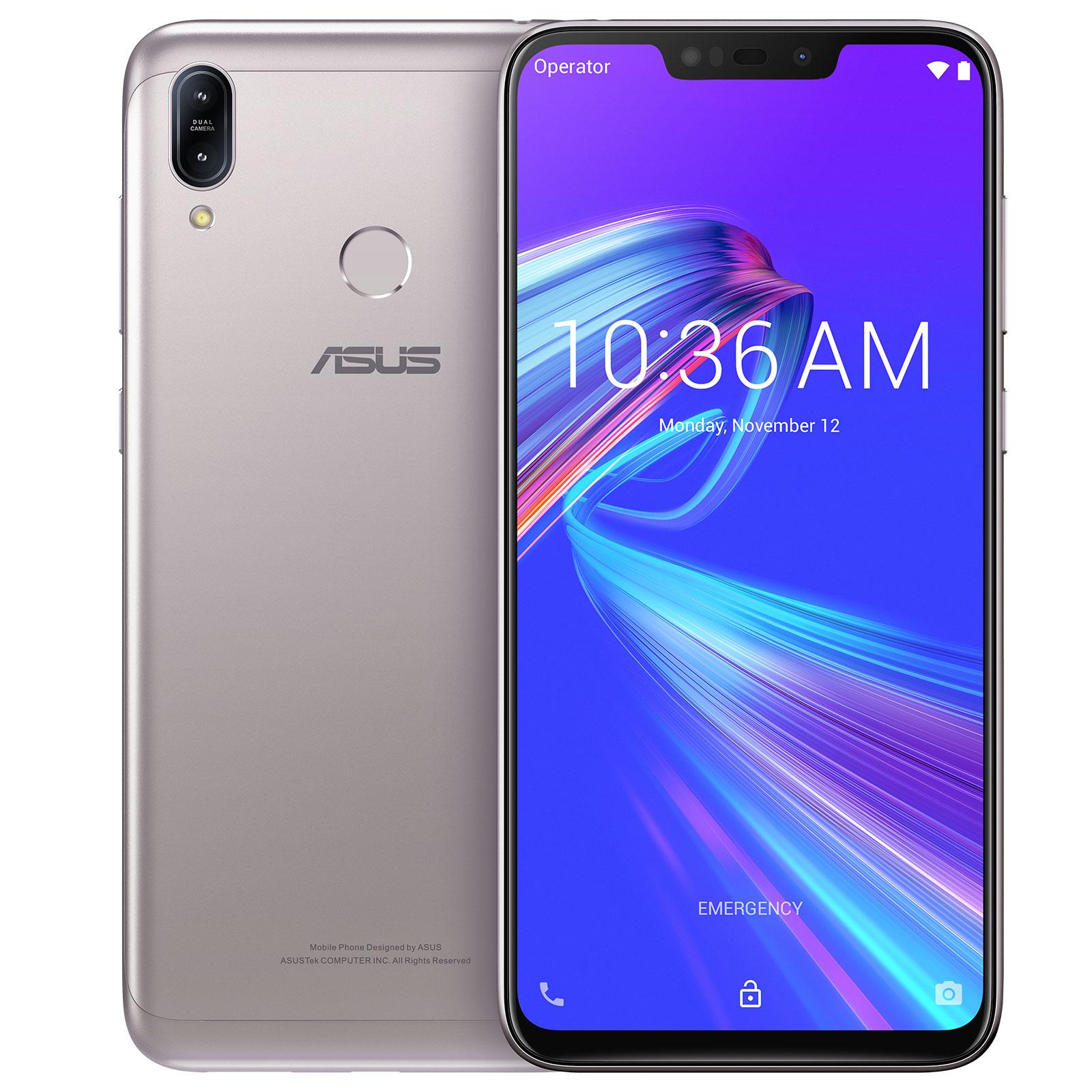 ASUS ZenFone Max M2 Argent 4 Go 32 Smartphone 4G LTE Dual SIM