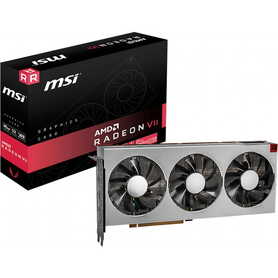 Carte graphique MSI RADEON VII 16 Go HBM2 - HDMI/Tri DisplayPort - PCI Express (AMD Radeon VII)