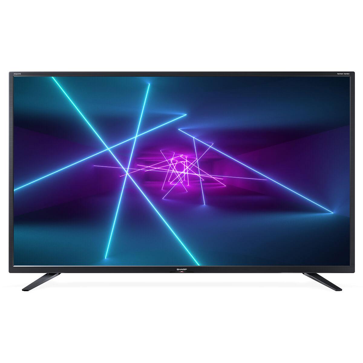"TV Sharp LC-40UI7452E Téléviseur LED 4K Ultra HD 40"" (102 cm) - 3840 x 2160 pixels - Ultra HD - HDR - Wi-Fi - DLNA - Harman/Kardon - 400 Hz"