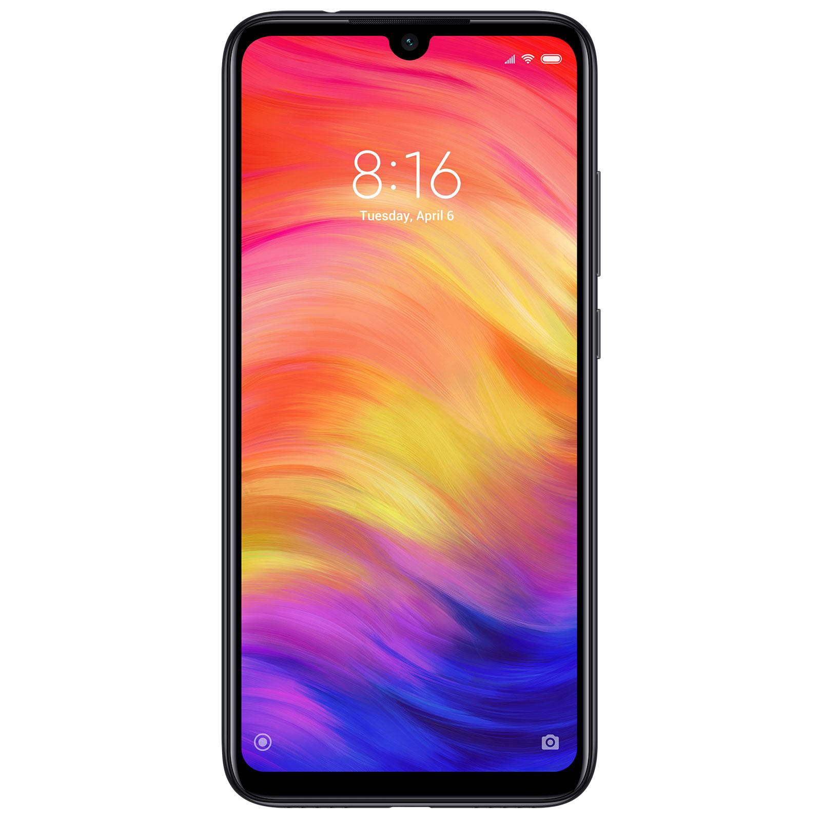 "Mobile & smartphone Xiaomi Redmi Note 7 Noir (3 Go / 32 Go) Smartphone 4G-LTE Dual SIM - Snapdragon 660 Octo-Core 2.2 GHz - RAM 3 Go - Ecran tactile 6.3"" 1080 x 2340 - 32 Go - Bluetooth 5.0 - 4000 mAh - Android 9.0"