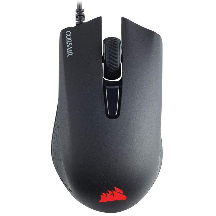 Souris PC Corsair Gaming Harpoon Souris gaming - droitier - capteur optique 6 000 dpi - 6 boutons programmables - rétroéclairage RGB