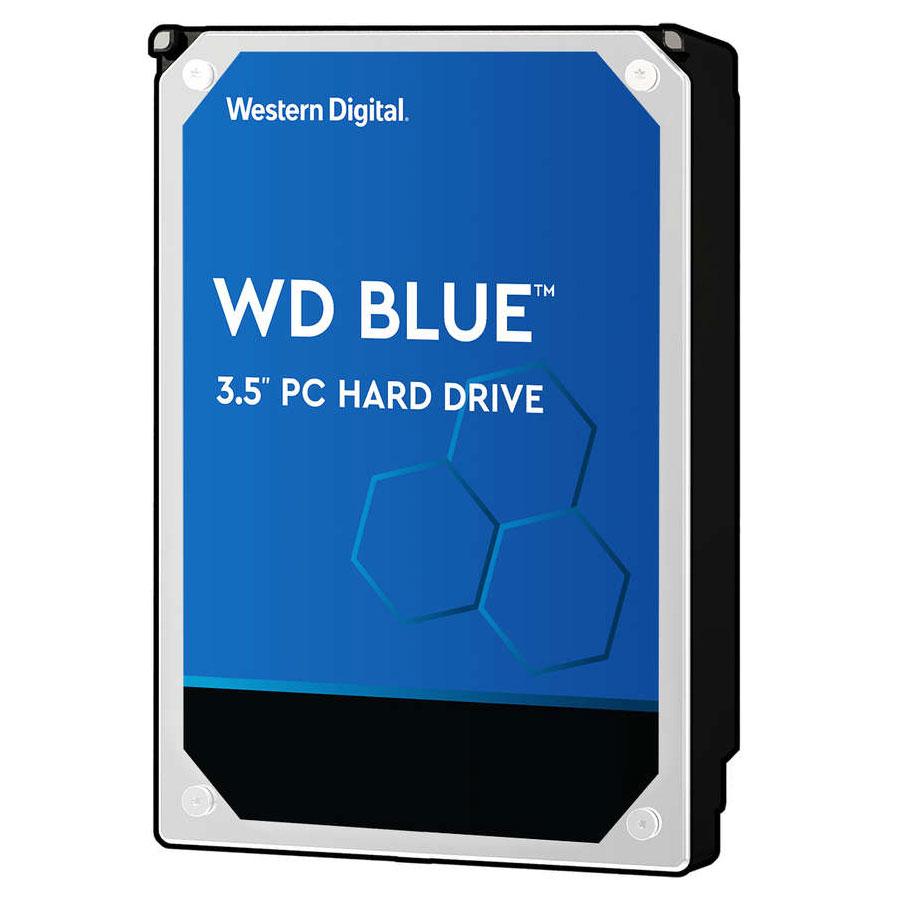 """Disque dur interne Western Digital WD Blue 4 To SATA 6Gb/s 64 Mo Disque dur 3.5"""" 4 To 5400 RPM 64 Mo Serial ATA 6Gb/s - WD40EZRZ (bulk)"""