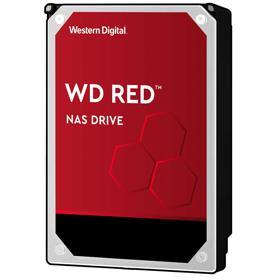 """Disque dur interne Western Digital WD Red 1 To SATA 6Gb/s Disque Dur 3,5"""" 1 To 64 Mo Serial ATA 6Gb/s - WD10EFRX (bulk)"""
