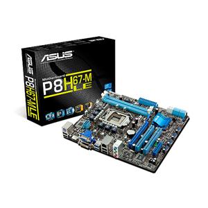 Carte mère ASUS P8H67-M LE Carte mère Micro ATX Socket 1155 Intel H67 Express Revision B3 (garantie 3 ans)