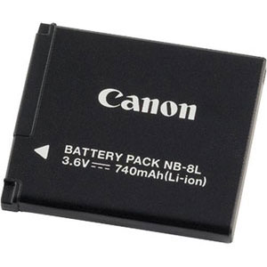 canon nb 8l batterie appareil photo canon sur ldlc. Black Bedroom Furniture Sets. Home Design Ideas