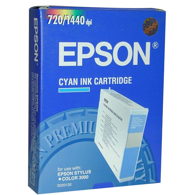 Cartouche imprimante Epson C13S020130 Epson cartouche S020130 (Cyan)